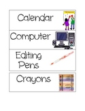 Classroom Picture Labels (GREAT FOR ESL!)