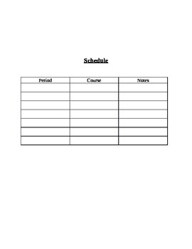 Classroom Planner