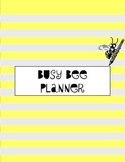 Classroom Planner Packet - Busy Bee