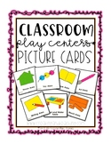 Classroom Play Centers Picture Cards