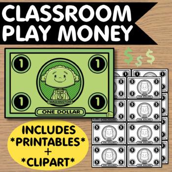 graphic regarding Printable Play Money $100 identify Clroom Participate in Financial - Printables + Clip Artwork