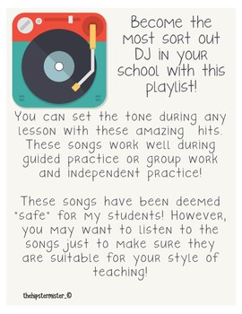 Classroom Playlist: Learning is GROOVY!