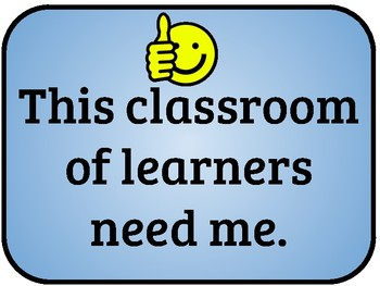 Classroom Pledge 1 of 2