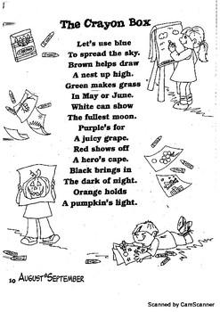 Classroom Poem Packet