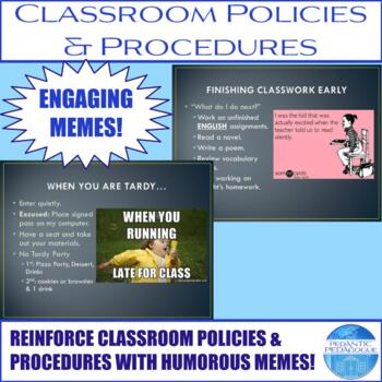 Classroom Polices and Procedures PowerPoint