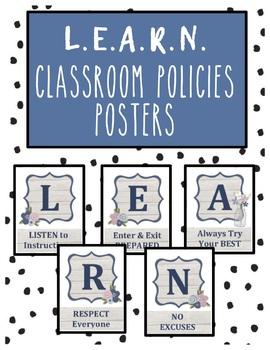 Classroom Policies