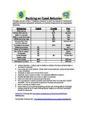 Classroom Positive Behavior Money System