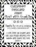 Classroom Postcard Pack ~FREEBIE~