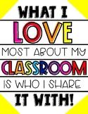 Classroom Poster!