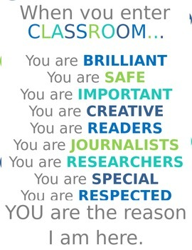 Classroom Poster