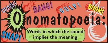 Classroom Poster 3-pack  (Simile, Metaphor, Onomatopoeia)