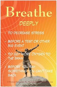 Classroom Poster - Breathe