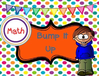 Classroom Poster: Bump It Up Math Poster