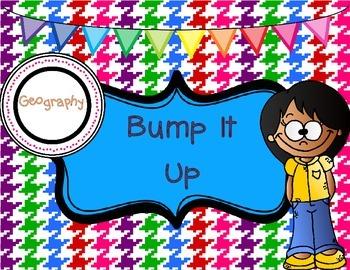 Classroom Poster: Bump It Up Social Studies Poster