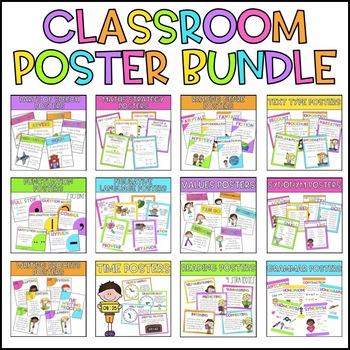 Classroom Poster Bundle