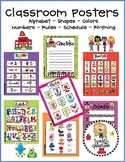 Classroom Poster Decorations Early Learners