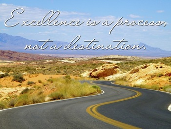 Classroom Poster:  Excellence