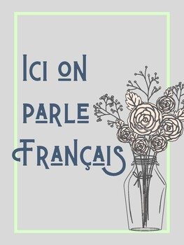 Classroom Poster: French