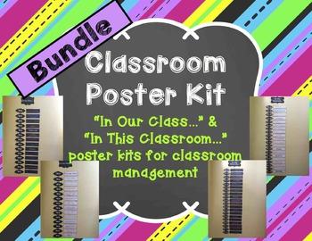 Classroom Poster Kit Bundle