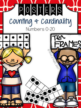 Classroom Poster: Math: Counting from 0 to 20