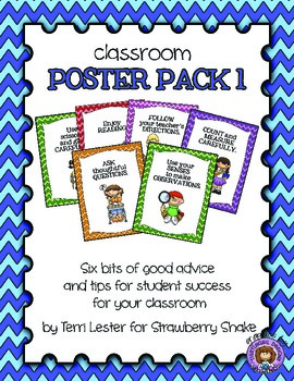 Classroom Poster Pack #1