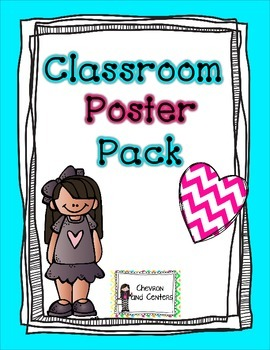 Classroom Poster Pack