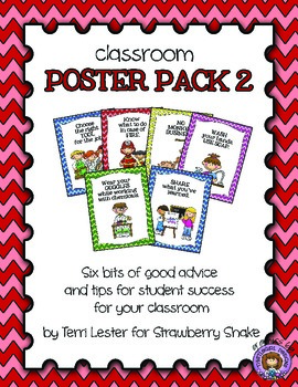 Classroom Poster Pack #2