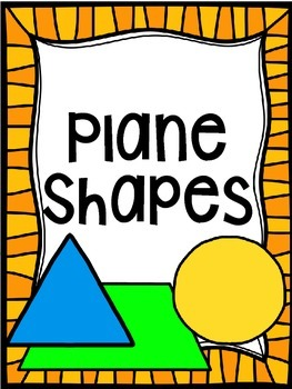 Classroom Poster Pack: Plane Shapes & Solid Figures