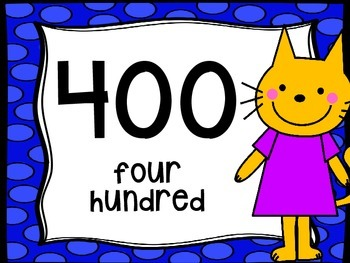 Classroom Poster Pack: Skip Counting by 100's with Mo Willems & Friends