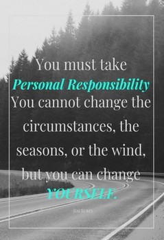 Classroom Poster - Responsibility
