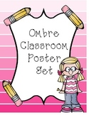 Classroom Poster Set