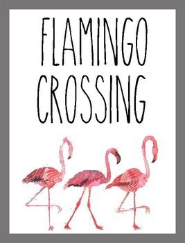 Classroom Poster / Wall Art - (Flamingo Crossing)