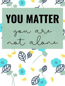 Classroom Poster: You Matter (2)