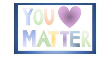 Classroom Poster- You Matter