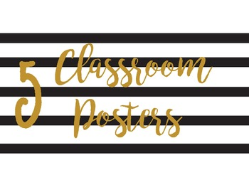 Classroom Posters 2016-2017
