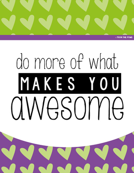 Classroom Motivational Posters to Inspire and Decorate