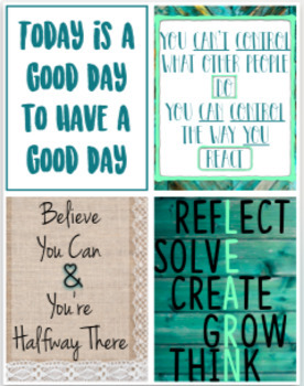 Classroom Posters Set of 8