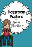 Classroom Posters for Special Education