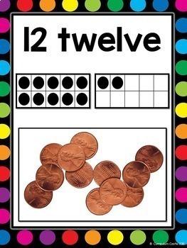 Classroom Posters BUNDLE {White}: Alphabet, 2D&3D Shapes, Numbers (0-20), Colors