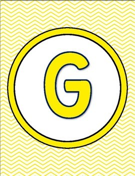 Classroom Posters- Chevron Alphabet Letters , Numbers-Chevron Classroom Decor
