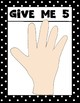 Good Listener Expectations {Give Me 5} Posters for Kindergarten