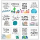 Classroom Posters - Inspirational Quotes - SCIENCE Edition (Watercolor)