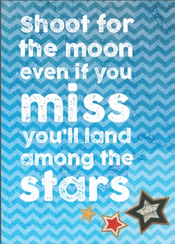 Classroom Posters, Inspirational Sayings 3