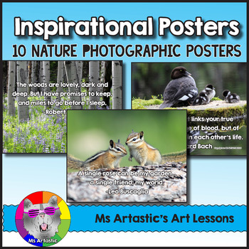 Inspirational Posters, 10 Nature Photographic Posters