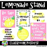 Classroom Posters (Lemonade Stand Theme)