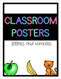 Classroom Posters - Letters and Numbers