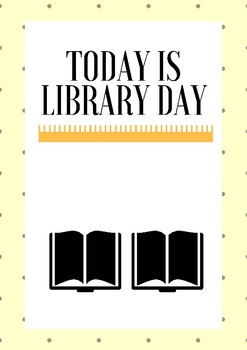 Classroom Posters - Library/Free Read