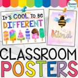 Growth Mindset Posters Kindness Classroom Posters Mental H