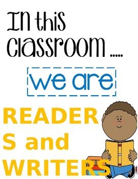 Classroom Posters (Motivational)