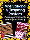 Classroom Posters: Motivational Women